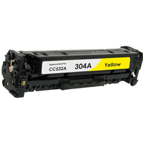 Toner HP Συμβατό CC532A Σελίδες:2800 Yellow